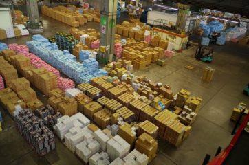 とある卸売市場の青果部
